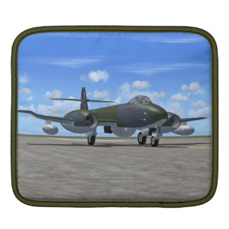Gloster Meteor Jet Fighter Plane iPad Sleeve