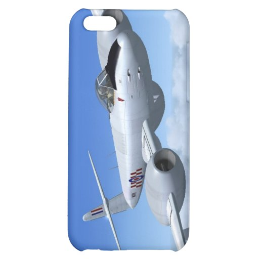 Gloster Meteor Jet Fighter Plane iPhone 5C Cover