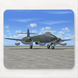 Gloster Meteor Jet Fighter Plane Mouse Pad