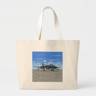 Gloster Meteor Jet Fighter Plane Tote Bag