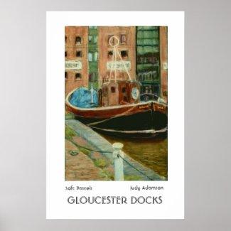 'Gloucester Docks' Print or Poster print