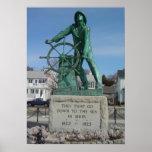Gloucester Fishermen Memorial Poster