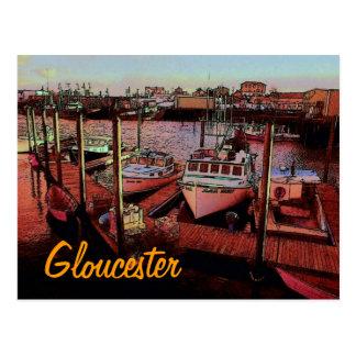 Gloucester Harbor Postcard