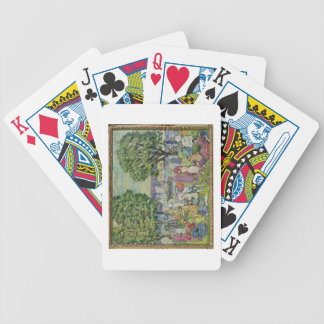 Gloucester Harbour (oil on canvas) Bicycle Playing Cards