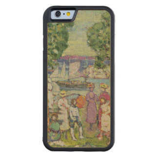 Gloucester Harbour (oil on canvas) Carved Maple iPhone 6 Bumper Case