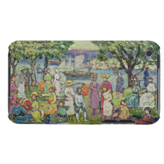Gloucester Harbour (oil on canvas) iPod Case-Mate Case