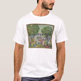 Gloucester Harbour (oil on canvas) T-Shirt