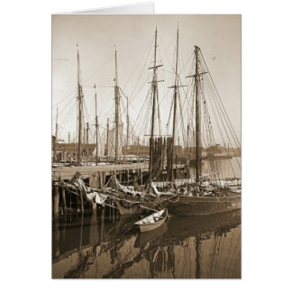 Gloucester Massachusetts Wharf 1905 Cards