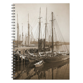 Gloucester Massachusetts Wharf 1905 Note Book