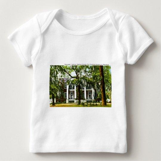 """Gloucester""  Mississipi Vintage Post Card Baby T-Shirt"