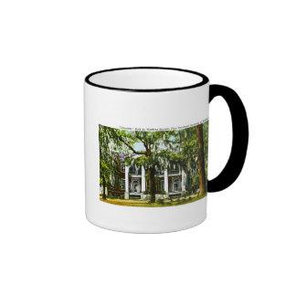 """""""Gloucester""""  Mississipi Vintage Post Card Ringer Coffee Mug"""