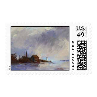 """""""Gloucester Paint Factory"""" Postage"""