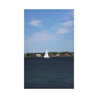 Gloucester Sailboat 1 Canvas Prints