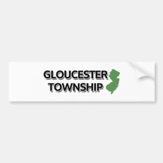 Gloucester Township, New Jersey Bumper Sticker