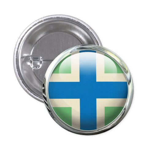 Gloucestershire Flag Buttons