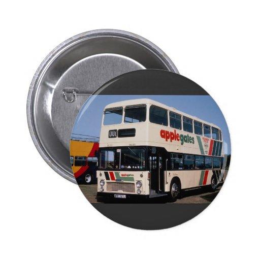 "Gloucestershire operator Applegates Bristol """"VRT"" Pinback Buttons"