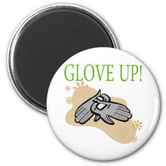 Glove Up 2 Inch Round Magnet