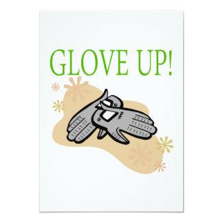 Glove Up 5x7 Paper Invitation Card