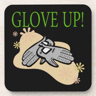 Glove Up Beverage Coaster