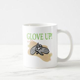 Glove Up Classic White Coffee Mug
