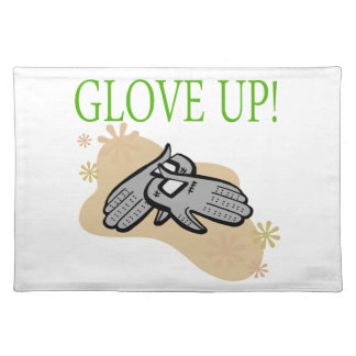 Glove Up Cloth Placemat