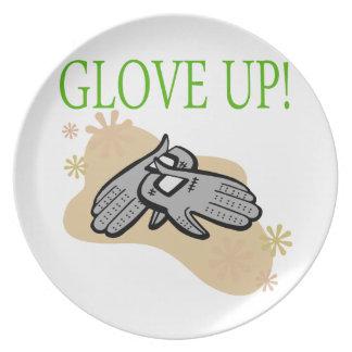 Glove Up Dinner Plate