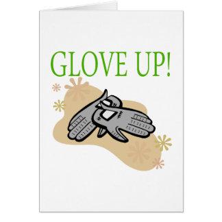Glove Up Greeting Card