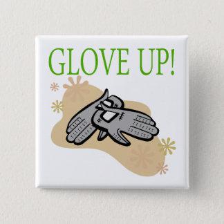 Glove Up Pinback Button