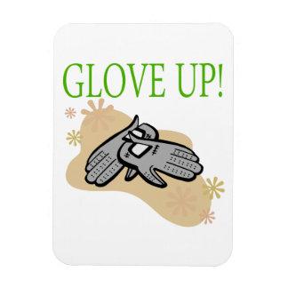 Glove Up Rectangular Photo Magnet