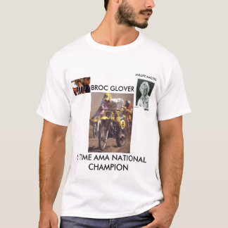 GLOVER 6 TIME CHAMP T-Shirt