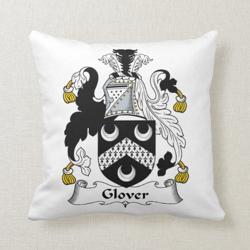 Glover Family Crest Pillows