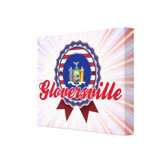 Gloversville, NY Impresión De Lienzo