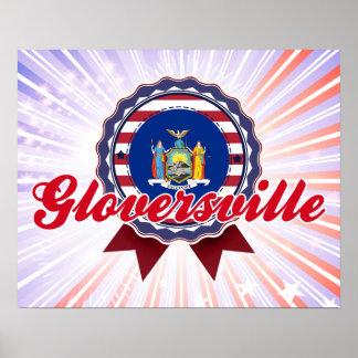 Gloversville, NY Poster