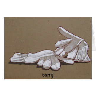 gloves, gloves, terry card