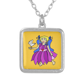 Glow Angel/Baby Kara Soars Silver Plated Necklace