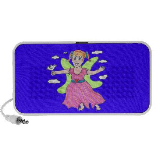 Glow Angel/Little Kara soars Mp3 Speaker