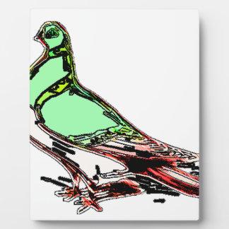 Glow Bird Plaque