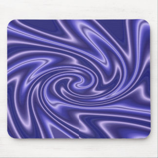glow blue mouse pad