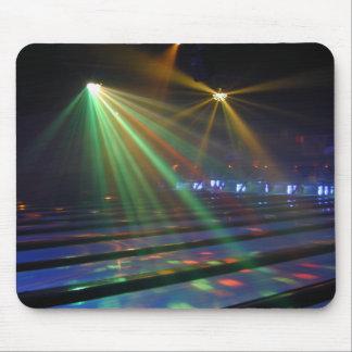 Glow Bowling Mouse Pad