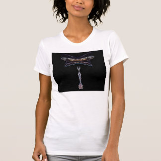 Glow Edged Dragonfly 2 by KLM Tee Shirt