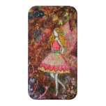 Glow (fairy) art by Janelle Nichol iPhone 4 Cover
