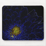 Glow Flower Mouse Pads