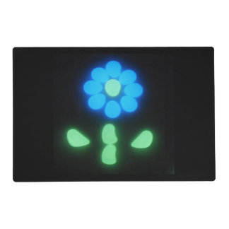 Glow Flower Power 1 Placemat