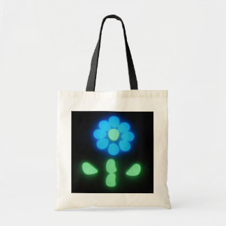 Glow Flower Power 1 Tote Bag