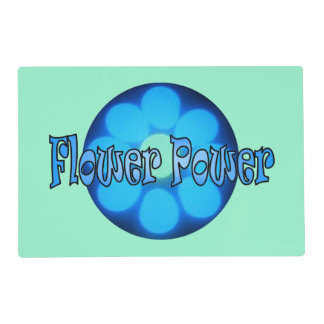 Glow Flower Power 2 Placemat