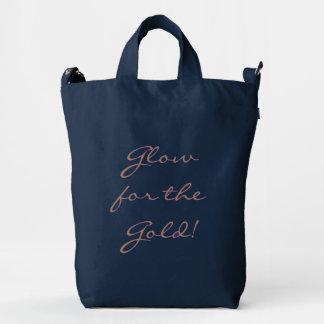 Glow for the Gold Baggu bag