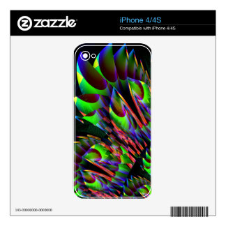 Glow in the Dark Abstract.JPG Decals For iPhone 4