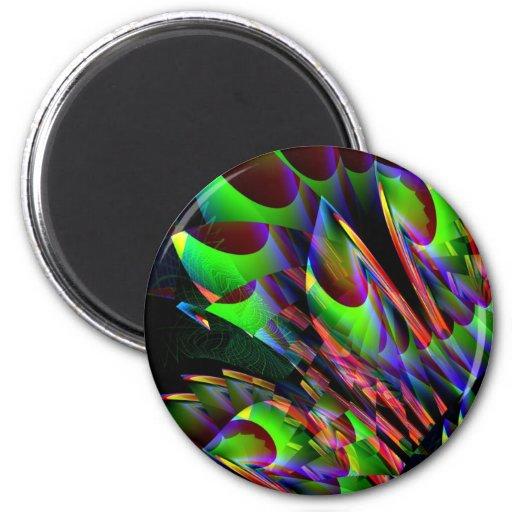 Glow in the Dark Abstract.JPG Fridge Magnets