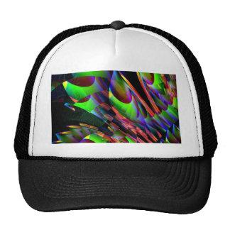 Glow in the Dark Abstract JPG Trucker Hat
