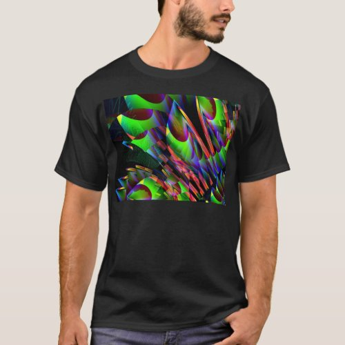 Glow in the Dark AbstractJPG T_Shirt